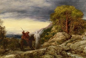 'Balaam and the Angel' by John Linnell