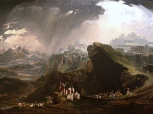 'Joshua Commanding the Sun to Stand Still upon Gibeon' by John Martin