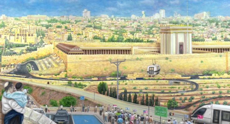 'Going Up To The Third Temple' by Ofer Yom Tov