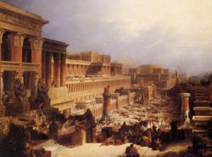 'Departure of the Israelites' by David Roberts 1829