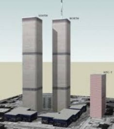 World Trade Centers: North, South, and 7