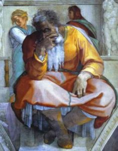 Michelangelo's Jeremiah