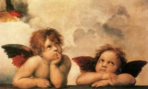 Raphael's Cherubs, from his 'Sistine Madonna'