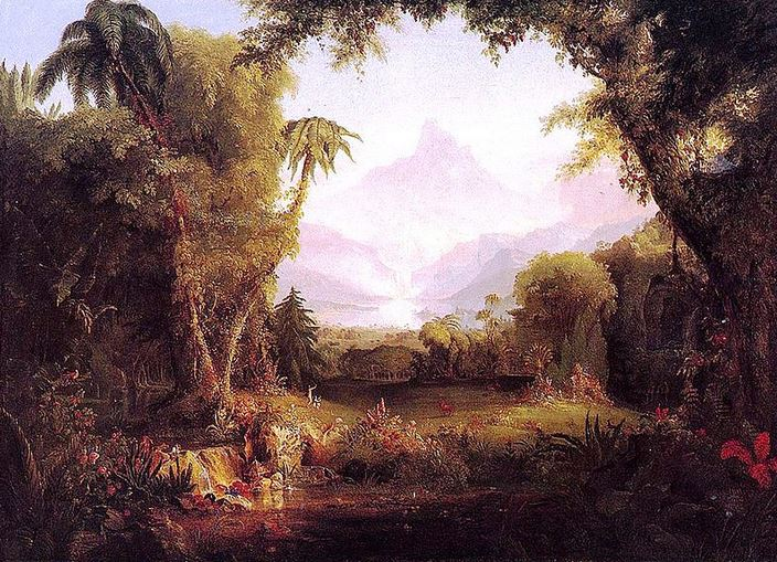 'Garden of Eden', by Thomas Cole