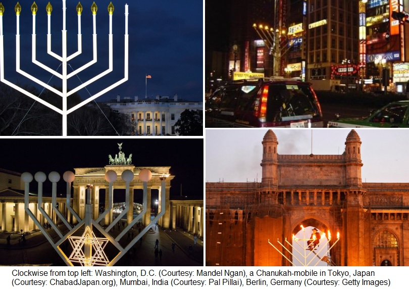 Chanukah Around the World