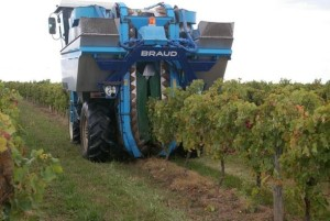 Grape-Harvesting Machine (Credit: Wineanorack.com)