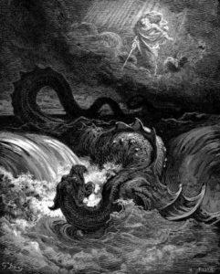'Destruction of Leviathan' by Gustav Doré