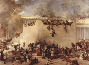 'Destruction of the Temple of Jerusalem' by Francesco Hayez (1867)